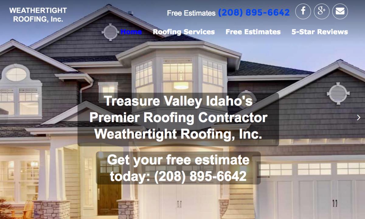 Weathertight Roofing, Inc.