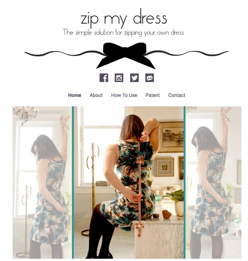 Zip My Dress » Web Design Boise